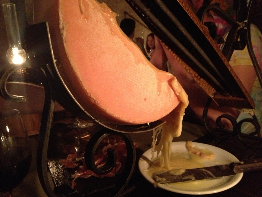 raclette cheese morzine