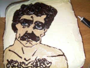 Tom Selleck Cake