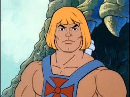Coffee the colour of he-man