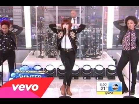 Carly Rae Jepsen Performing on Good Morning America