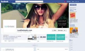 Look Fantastic Facebook Page