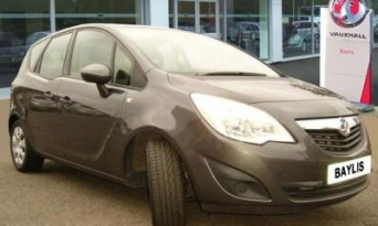 Rate My Hire Car: Vauxhall Meriva