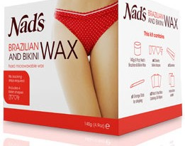Nads Brazilian & Bikini Wax in action: A review and demonstration on underarms