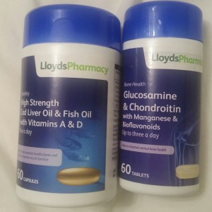 glucosamine and fish oil supplements for my joints
